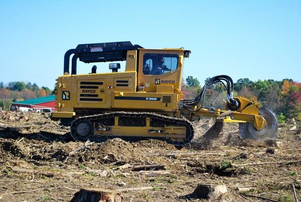 Rayco T360 Forestry Mulcher & Hydra-Stumper / New