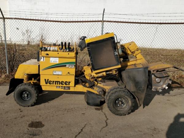 2015 Vermeer SC372