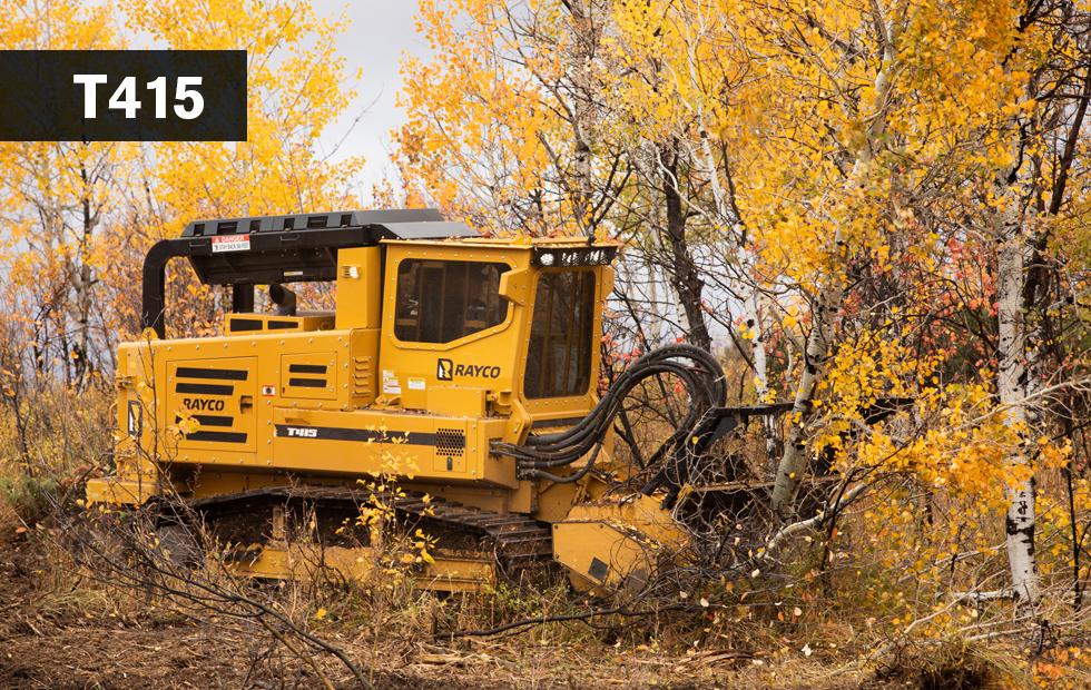Rayco T415 Forestry Mulcher & Hydra-Stumper