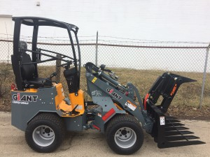 Giant D254SW Compact Wheel Loader