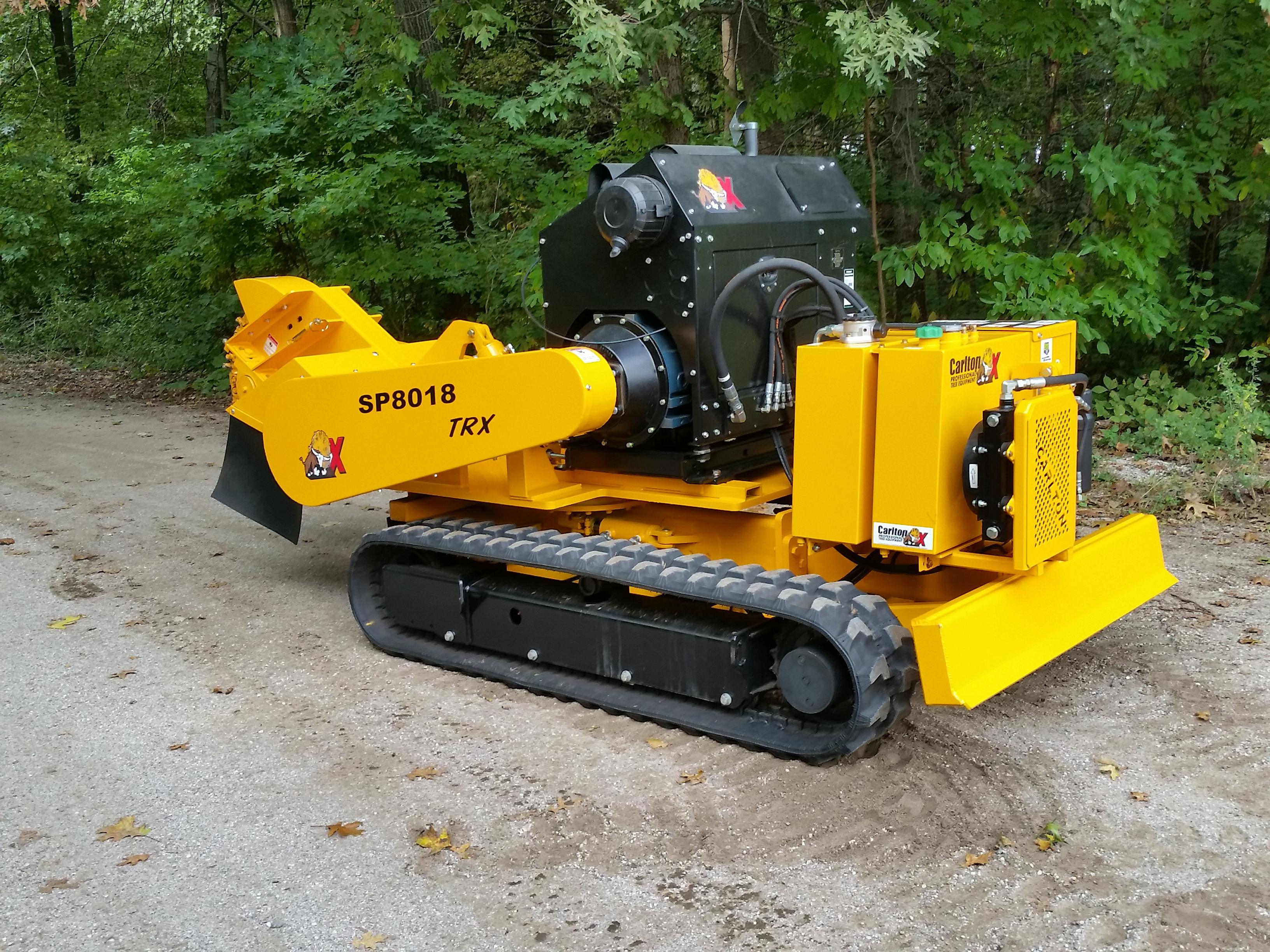 Carlton 8018trx Stump Grinder Demonstrator 87 600