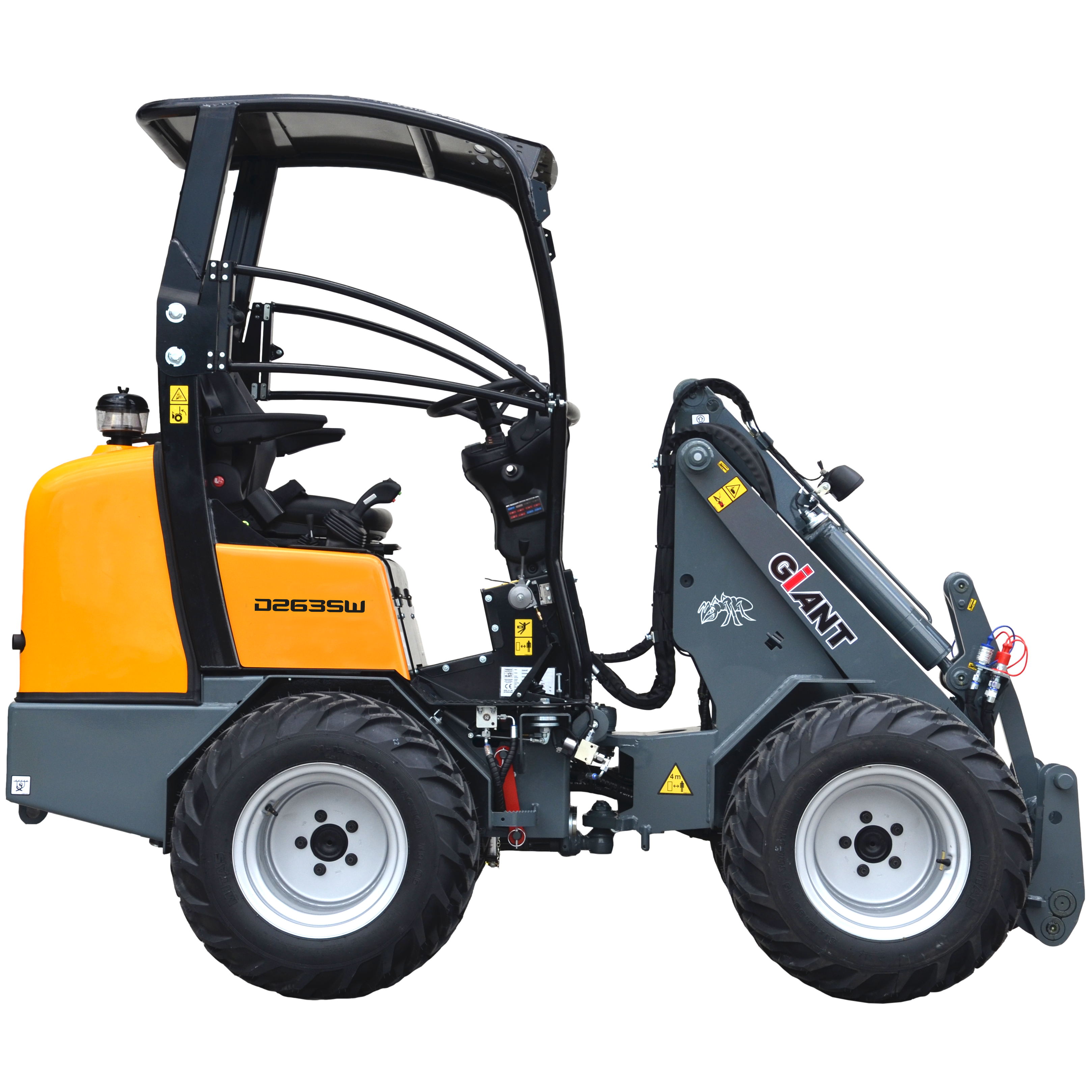 Giant D263sw X Tra Compact Wheel Loader New Amp Demonstrator
