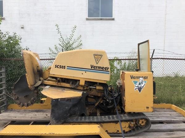 2000 Vermeer SC505