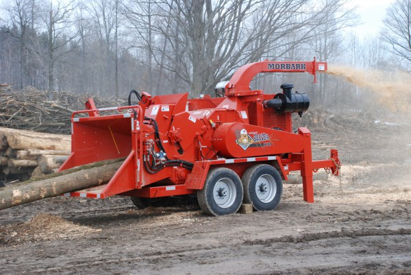 Morbark M18R Brush Chipper